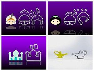 Cortador Kit Aladdin - 4 Modelos Mod 2