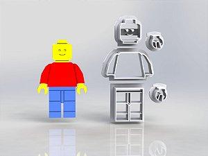 Cortador Lego - Boneco Modular