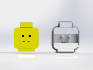 Cortador Lego - Rosto