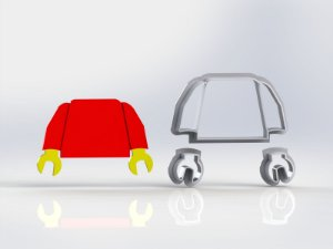 Cortador Lego - Torax