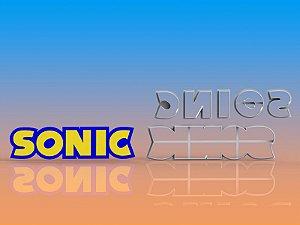 Cortador Logo Sonic Modular