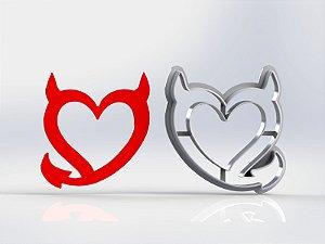 Cortador Dia dos Namorados - Coração da Maldade