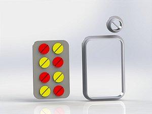 Cortador Enfermagem - Cartela de Comprimidos