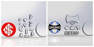 Cortador Sport Clube Internacional e Gremio - Modulares Grenal