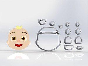 Cortador Cocomelon - Bebê Modular