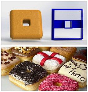 Cortador Donuts Quadrado