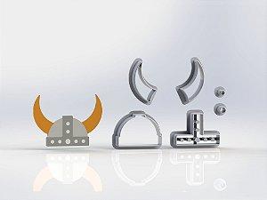 Cortador Chapéu Viking Modular