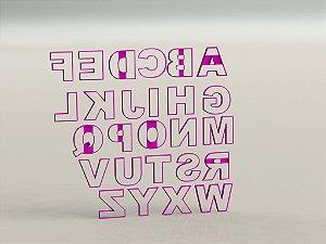 Cortador ( UNIDADE) de Alfabeto Mod 4