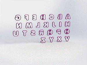 Cortador Alfabeto p DONUTS Mod 2 - Letras