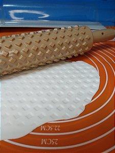 Rolo de Textura Losangos