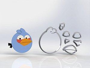 Cortador Angry Birds Azul Modular