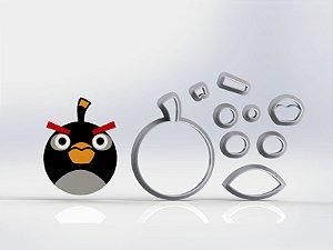 Cortador Angry Birds Bomb Modular