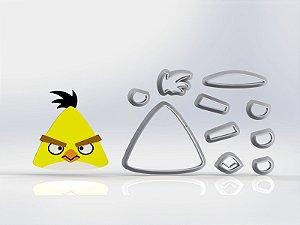 Cortador Angry Birds Chuck Modular