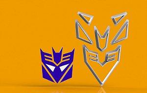Cortador Transformers - Decepticon