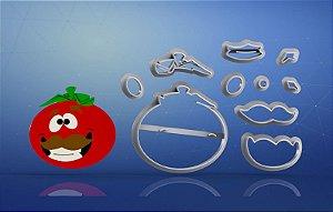 Cortador Fortnite - Cabeça de Tomate Modular
