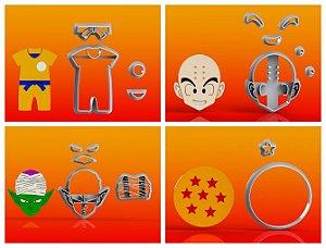 Cortador Kit Dragon Ball -  4 Modelos Modulares