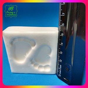 Molde silicone Pezinhos de Bebê