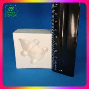 Molde silicone Bosque Baby Porco Espinho