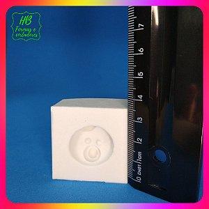 Molde silicone Rostinho Bebe 1 G