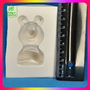 Molde silicone Masha -  Urso