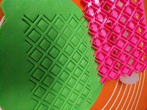 Marcador Textura Carré - Losango quadrado