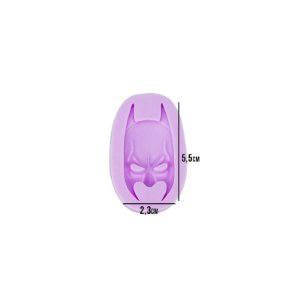 Molde Silicone Herói Batman Morcego
