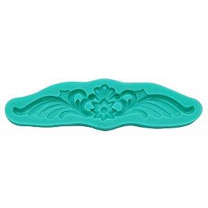 Molde Silicone Ornamento (Bordas) Moldura
