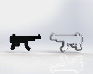 Cortador Free Fire - Arma Mod 1