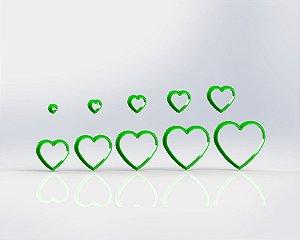 Cortador Polymer Clay (Mod 18) Coração