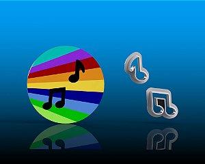 Cortador Now United - Notas Musicais