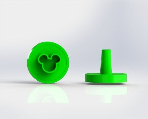 Marcador Docinhos (Carimbo) - Mickey