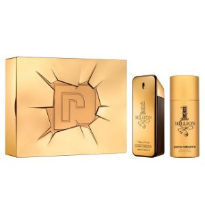 Kit Paco Rabanne 1 Million Masculino - Pefume EDT + Desodorante