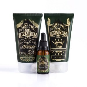Kit Don Alcides Shampoo para Barba Calico Jack + Balm para Barba Calico Jack  + Óleo para Barba Calico Jack