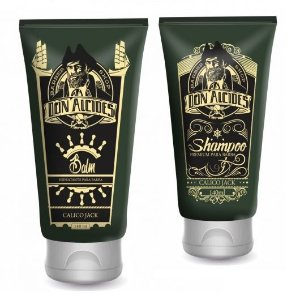 Kit Don Alcides Balm para Barba Calico Jack + Shampoo para Barba Calico Jack