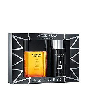 Kit Azzaro Pour Homme Eau de Toilette Masculino 100ml + Desodorante Azzaro 150ml