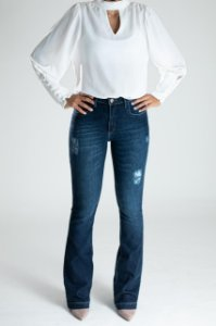 Calça Jeans Microflare - Curitiba