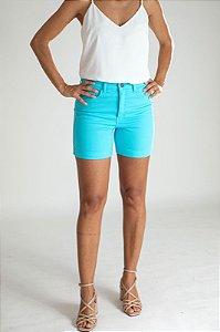 Shorts Sarja Azul Turquesa - Valladolid