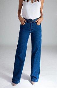 Calça Pantalona Jeans - Casablanca