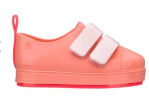 Mini Melissa Go Sneaker Rosa Rosa Neon