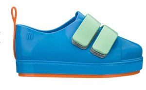 Mini Melissa Go Sneaker Azul laranja Verde