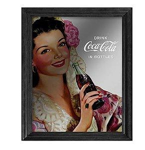Quadro Espelho Coca Cola Home Collection