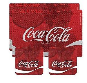Jogo Americano Coca-Cola Trade Mark - 4 peças