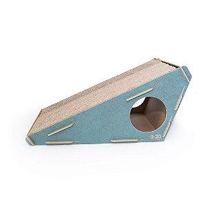 Arranhador para Gatos Rampa MDF - Azul