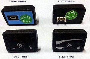 Botão Chave Comutadora Gnv Tury T3000 T2000 T1200 T1500