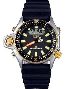 Relógio NOVO SEM USO Relógio Citizen Aqualand Masculino Jp2004-07e/tz10137p (NOVO SEM USO)
