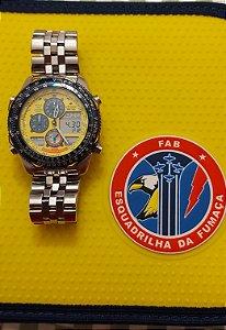 Relógio Citizen Esquadrilha Da Fumaça Jn0047-59y C300 (PARA COLEÇÃO-USADO POUCAS VEZES)