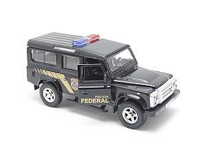 Miniatura de Viatura Policial - Land Rover Defender