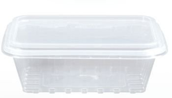 Kit Pote Retangular 750ml - Caixa com 100 unidades