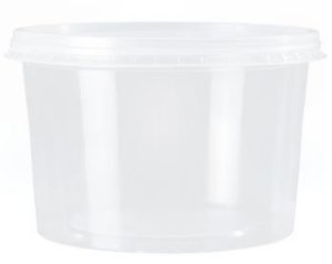 Kit Pote Redondo 1000ml - Caixa com 150 unidades