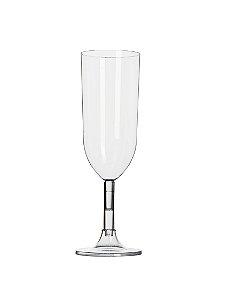 Taça Champagne Cristal 220ml - Caixa com 56 unidades